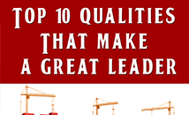 10 Qualities that make a great leader
