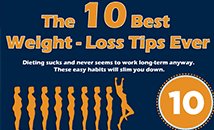 The 10 Best Weight Loss Tips Ever