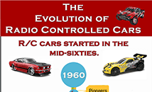 The Evolution of radio controlled cars